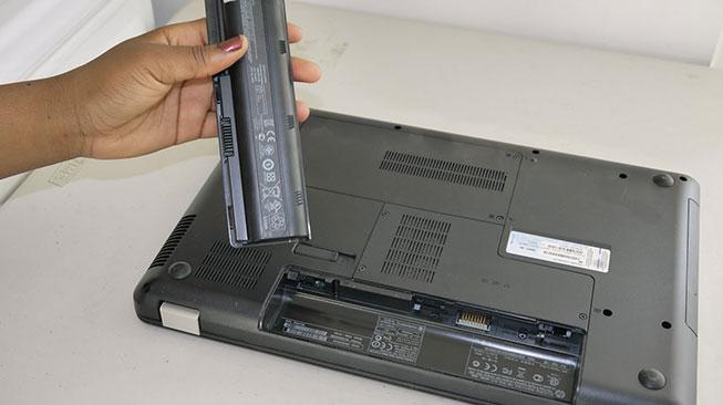 Kondisi Baterai Laptop Bekas