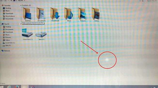 Kondisi Layar Laptop Bekas