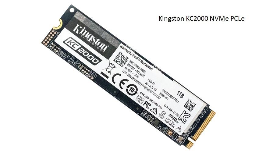 Kingston KC2000 NVMe PCLe